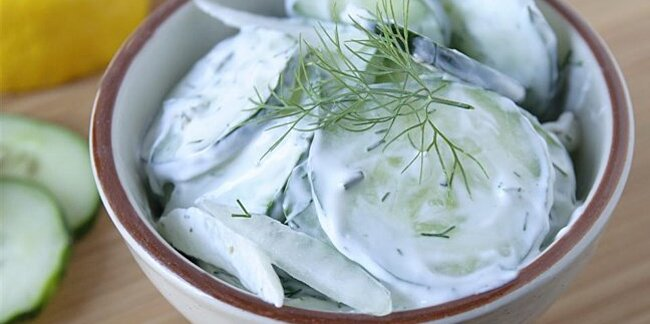 our 13 best creamy cucumber salad recipes