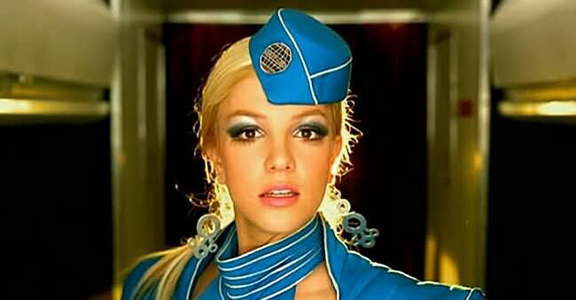 """This flight attendant just recreated Britney's """"Toxic,"""" and we'll love it till the world ends"""