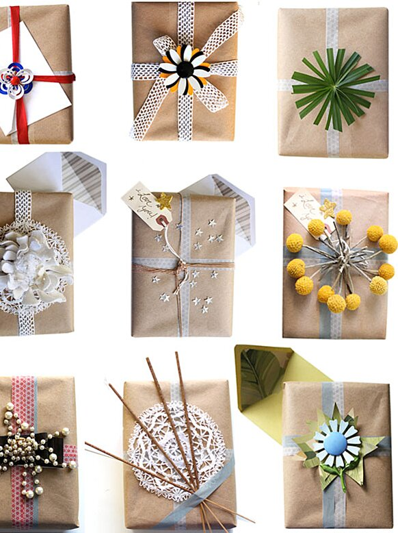 5 Unique Gift Wrap Ideas You Rsquo Ll Never Find In A Store Real Simple
