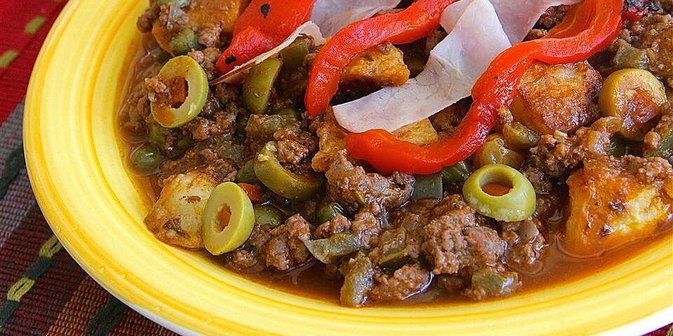 cuban style picadillo recipe