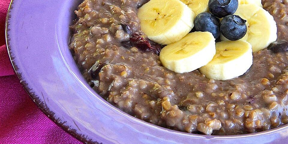 blueberry and banana steel cut oats recipe