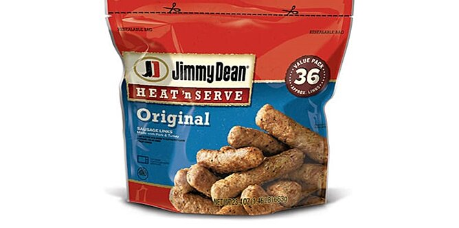 29 000 pounds of jimmy dean sausage are being recalled