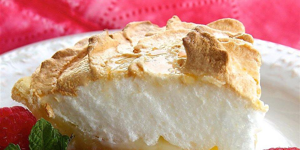raspberry lemon meringue pie recipe