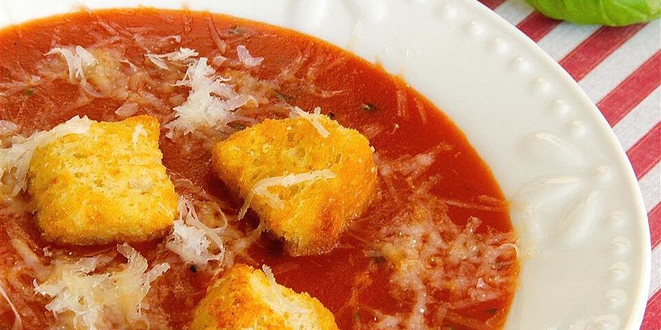 my amazing tomato basil soup like applebees recipe
