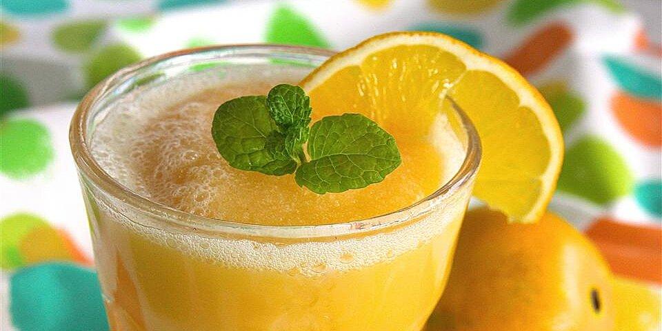 orange summer cooler recipe