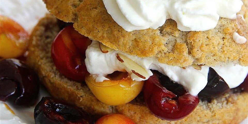 fresh cherry shortcake recipe