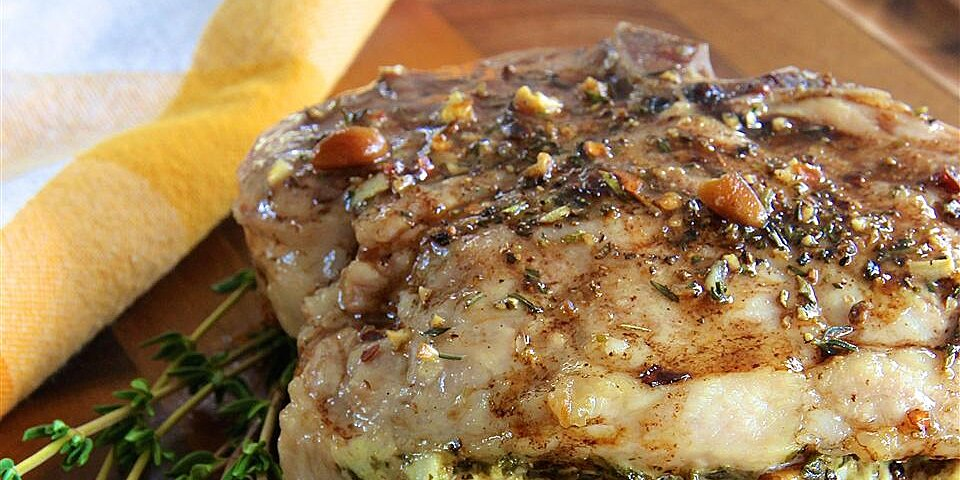pesto stuffed pork chops