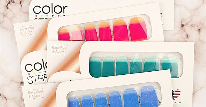What's the Deal with Those Nail Polish Strips Your Friend is Selling on Facebook?