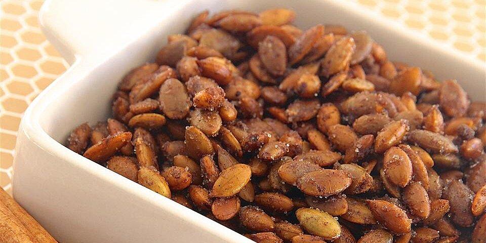 cinnamon toast pumpkin seeds recipe