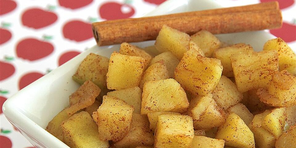 cinnamon apples recipe