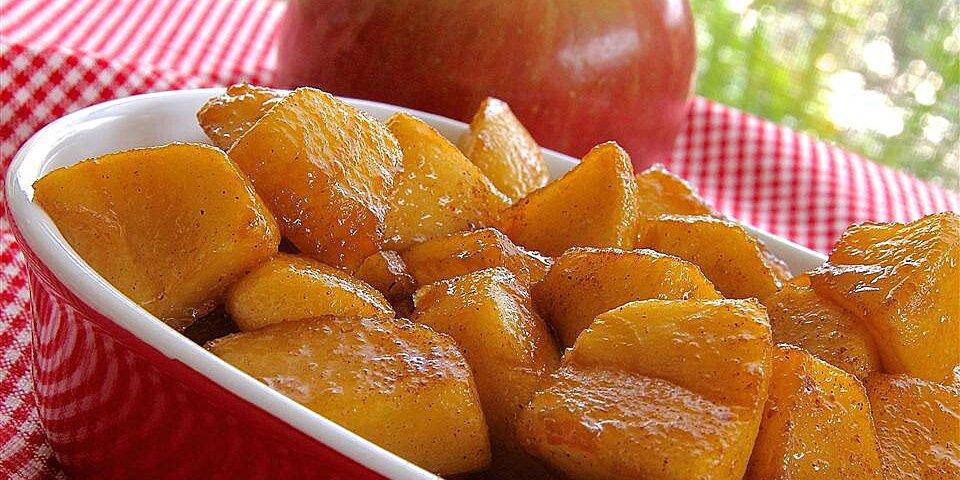 skillet apples with cinnamon recipe