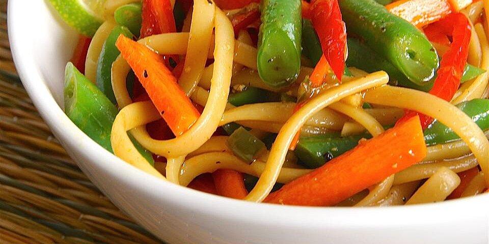 spicy sesame noodle salad recipe