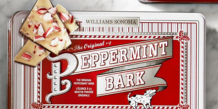 williams sonoma brings back holiday candies and barks early in