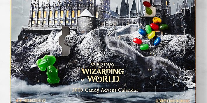 this harry potter advent calendar is full of the best wizarding sweets