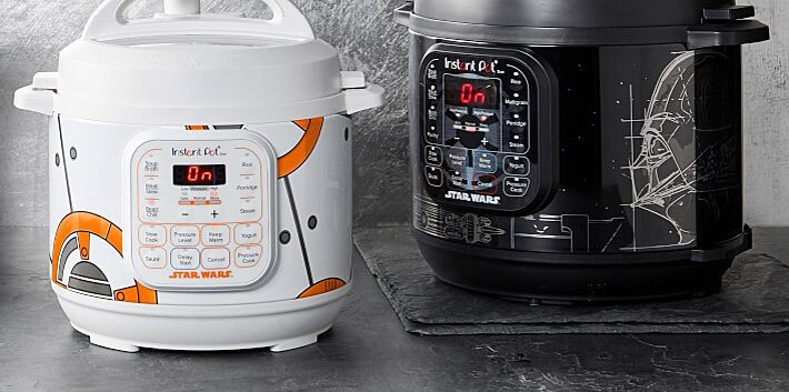 star wars instant pots marked down 30 at williams sonoma