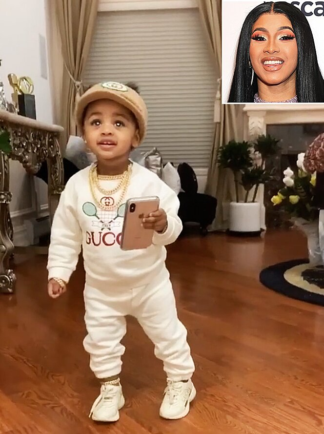 Cardi B Posts Video Of 15 Month Old Daughter Kulture Dancing