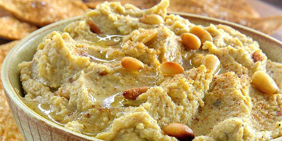 joes hummus with pine nuts recipe
