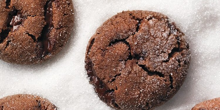 Chewy Chocolate Gingerbread Cookies Recipe Martha Stewart