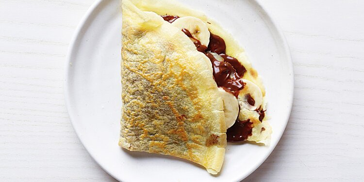 Chocolate Hazelnut And Banana Crepe Recipe Martha Stewart