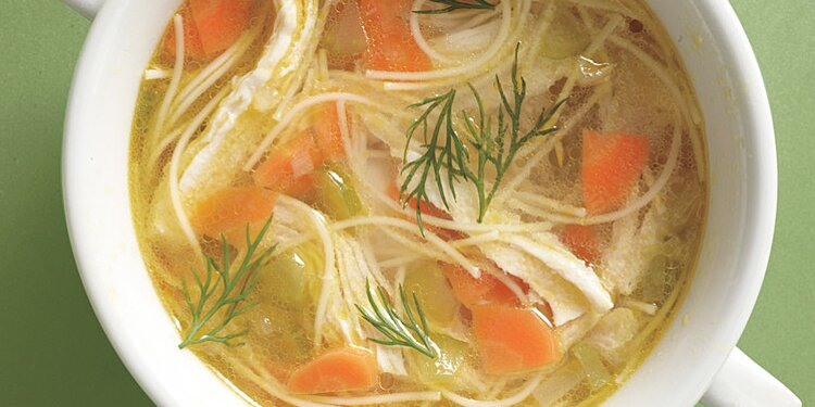 Easy Chicken Noodle Soup Recipe Martha Stewart