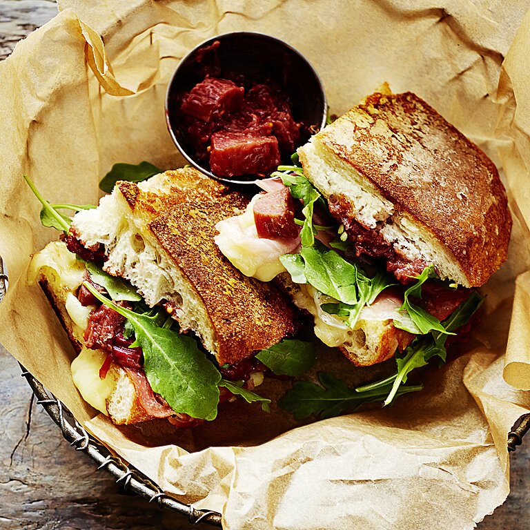 Press For Flavor Grilled Sandwich Recipes Myrecipes