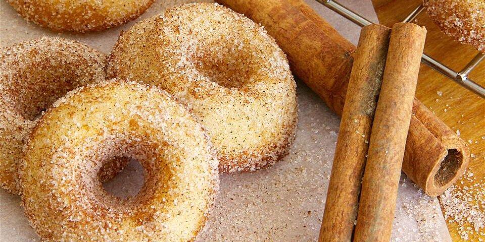 baked mini doughnuts recipe