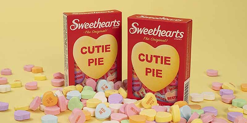 Sweethearts Candies Have New Sayings Inspired by Love Song Lyrics This Year