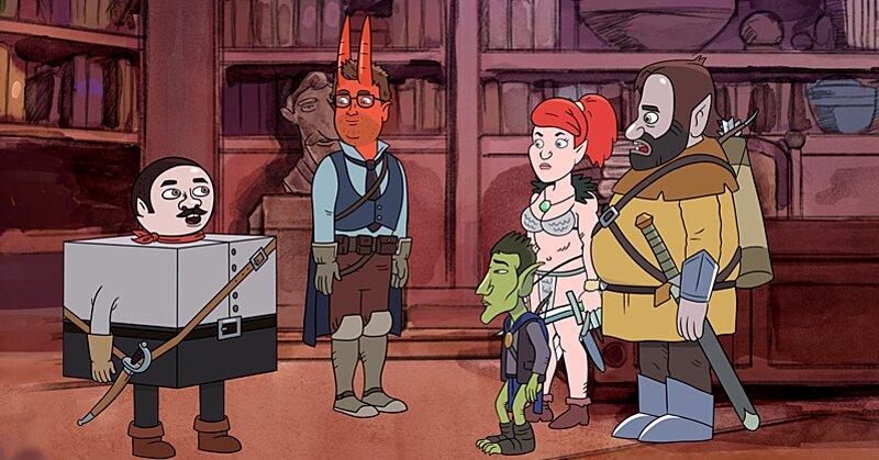 Harmonquest Dan Harmon Talks Bringing Dungeons Amp Dragons To Life Ew Com