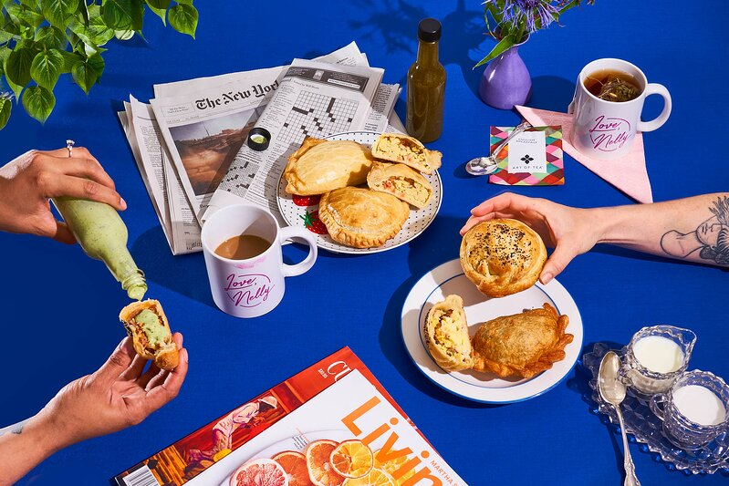 Love, Nelly table spread
