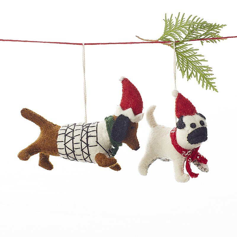 15 Paws Itively Jolly Christmas Ornaments That Celebrate Your Dog Southern Living