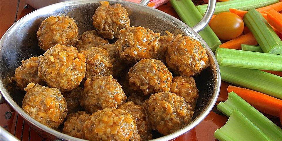 spicy buffalo style meatballs recipe