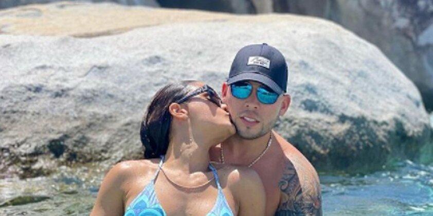 Clarissa Molina y su novio Vicente Saavedra encienden las redes candentes fotos