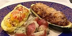 beef stuffed zucchini recipe