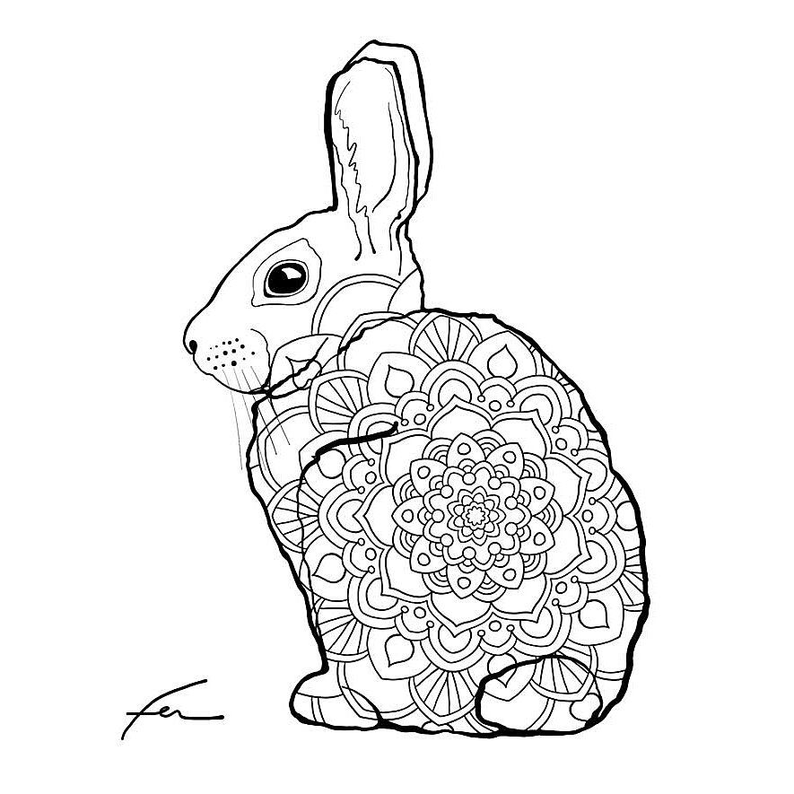 MindWare – Fantastical Styles Animal Coloring Book – 24 Puzzles ... | 885x885