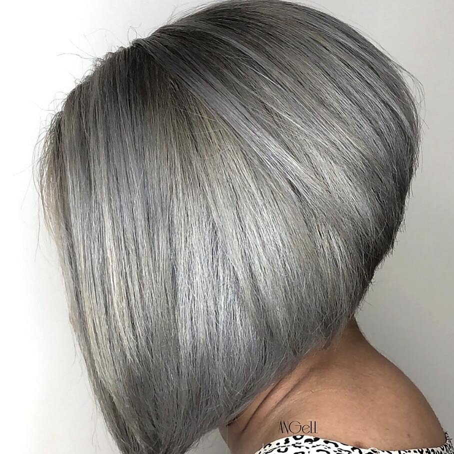These Short Gray Hairstyles Make Going Gray So Easy And Ageless Southern Living