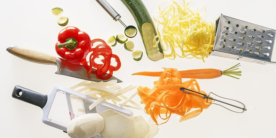 no spiralizer use gadgets you already own