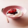 workout yogurt with berries