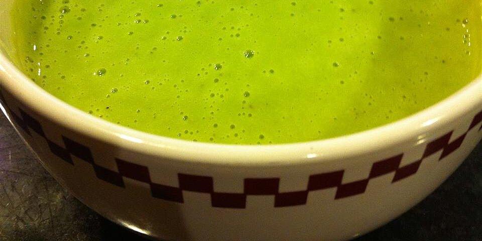 smooth broccoli vitamix soup recipe