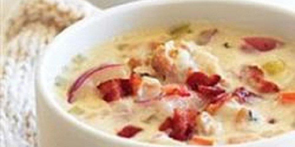 potato bacon clam chowder recipe