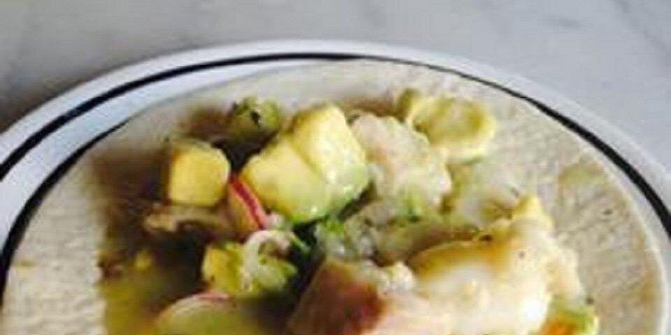 avocado and tilapia ceviche recipe