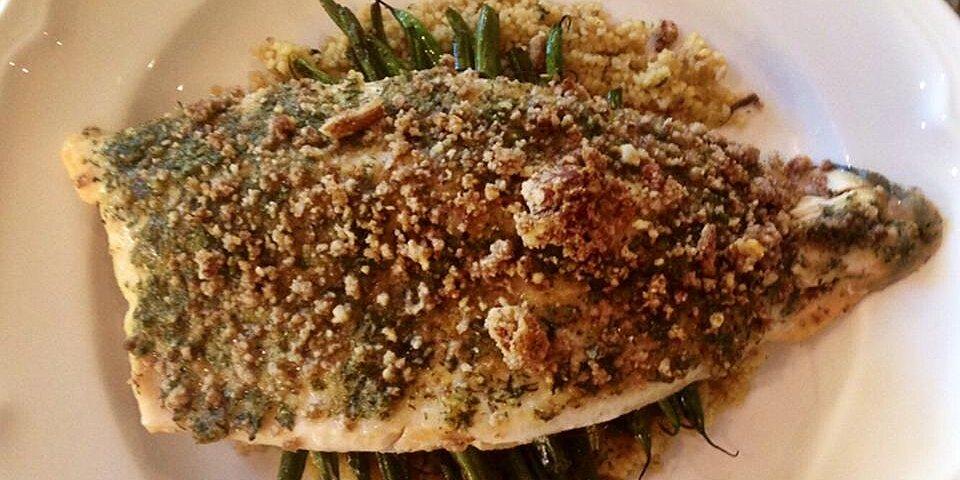 pecan crusted trout recipe