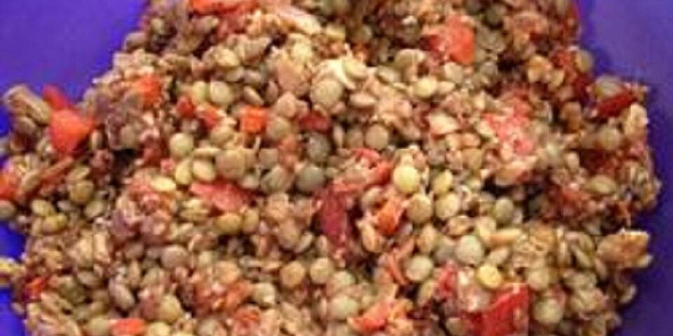 crunchs lentil salad recipe