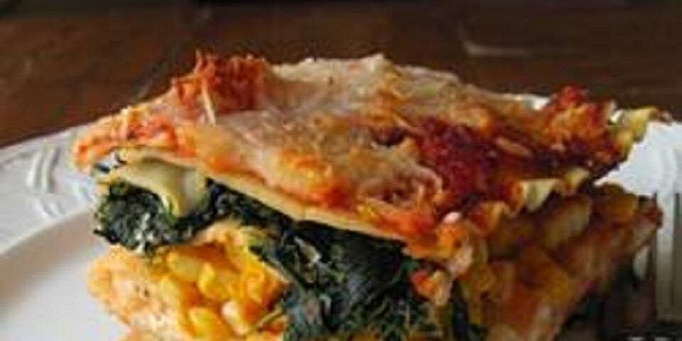 summer garden lasagna recipe