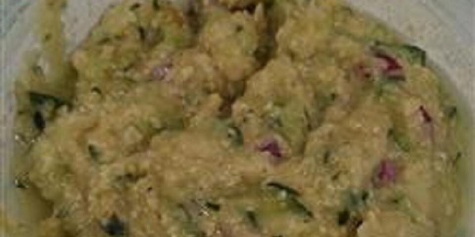 zucchini dip recipe