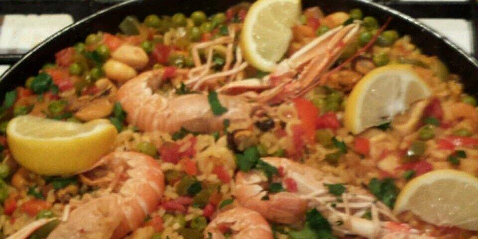 marias paella recipe