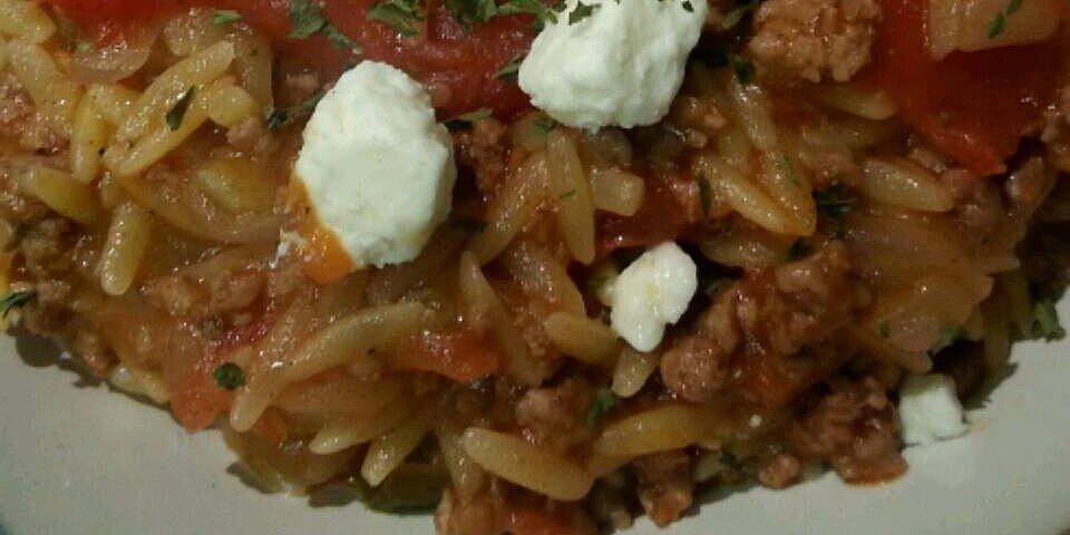 greek lamb and orzo recipe