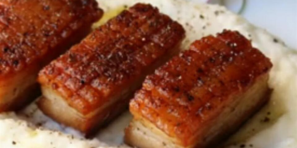 chef johns crispy pork belly