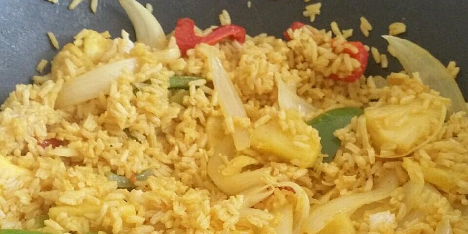 curry pineapple fried rice recipe