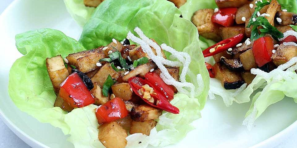 vegan lettuce wraps recipe
