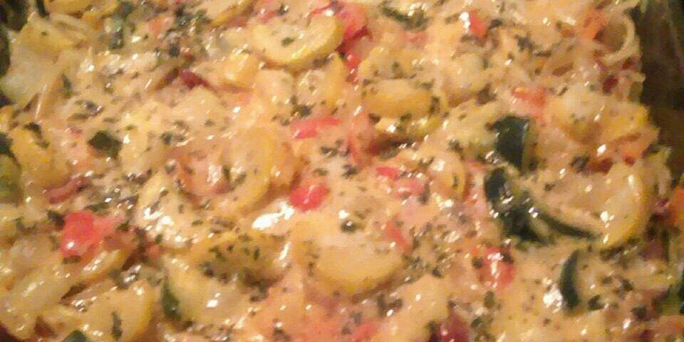 zucchini spaghetti casserole recipe